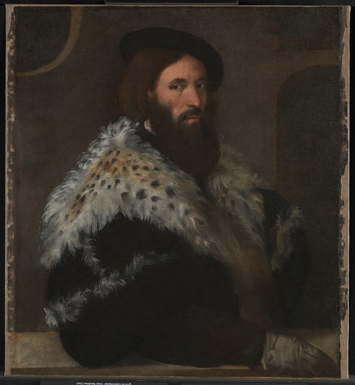 Titian portrait just been rediscovered in the basement of the National Gallery. Photograph: The National Gallery