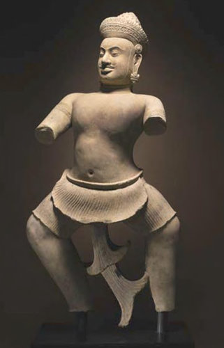 This 10th-century Khmer sculpture is at the heart of a pending lawsuit involving Sotheby's.