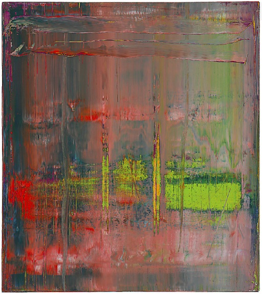 Lot 28. Lot DescriptionGerhard Richter (b. 1932)  Abstraktes Bild  signed, numbered and dated '889-14 Richter 2004' (on the reverse)  oil on canvas: 88 5/8 x 78¾in. (225 x 200cm.)  Painted in 2004 Estimate on Request