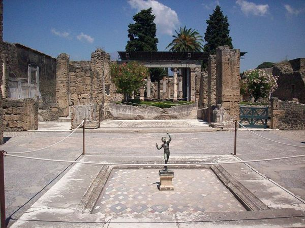 The House of the Faun, Pompeii. Source: Wikipedia.