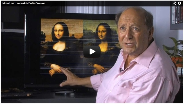 Screen shot of Mona Lisa Foundation video.