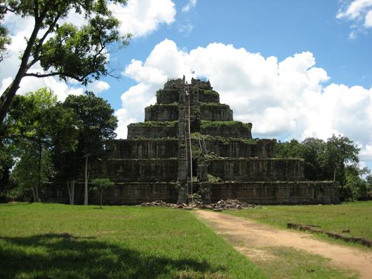Koh Ker, Cambodia.