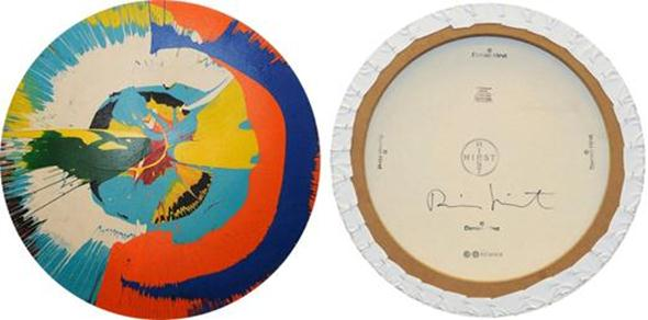 An imitation spin painting rejected by Sotheby's. (Courtesy the office of the Manhattan district attorney)