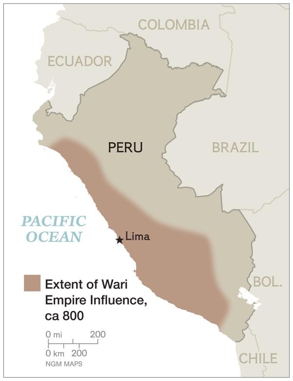 Peru_Wari_Map