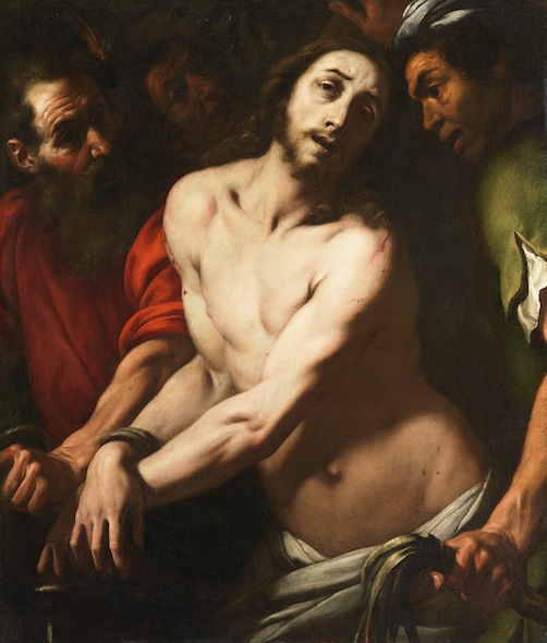 Daniele Crespi (c. 1595 ?-1630)) Mocking of Christ Oil on Canvas - 108 x 91 cm Los Angeles, County Museum of Art Photo : Lacma