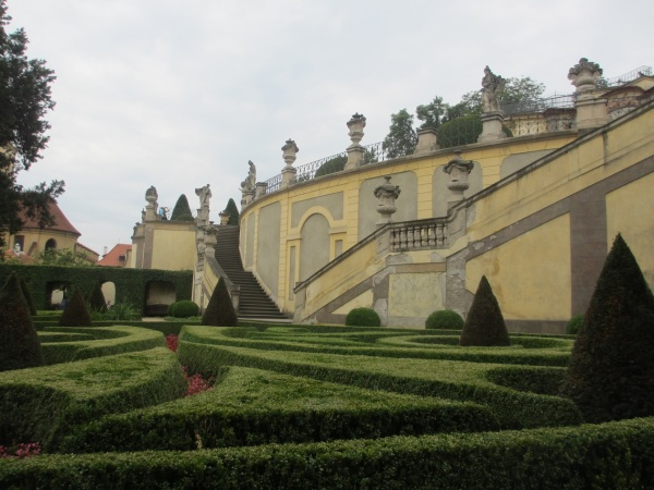 Vrtba Gardens, Prague. Click on image to enlarge.  Photograph © Nord Wennerstrom.
