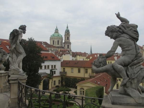 Vrtba Gardens, Prague. Click on image to enlarge.