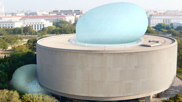 "The Hirshhorn Museum's ill-fated ""Bubble"" designed by Diller Scofidio Renfro."