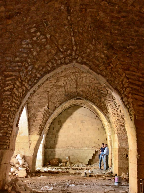 1,000-year-old hospital found in the Christian Quarter of the Old City of Jerusalem (Yoli Shwartz / Israel Antiquities Authority).