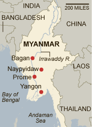 Burmese Treasures Coming to New York | Nord on Art Naypyidaw Map