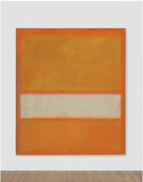 Lot 21. Mark Rothko (1903-1970)  No. 11 (Untitled)  signed and dated 'MARK ROTHKO 1957' (on the reverse)  oil on canvas  79½ x 69¾ in. (201.9 x 177.2 cm.)  Painted in 1957.  Estimate: $25-35 million.