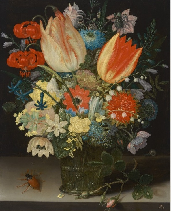 Peter Binoit (active around 1611-1627) Still-life with Tulips, 1623 Oil on Copper - 24.1 × 19 cm Washington, National Gallery of Art