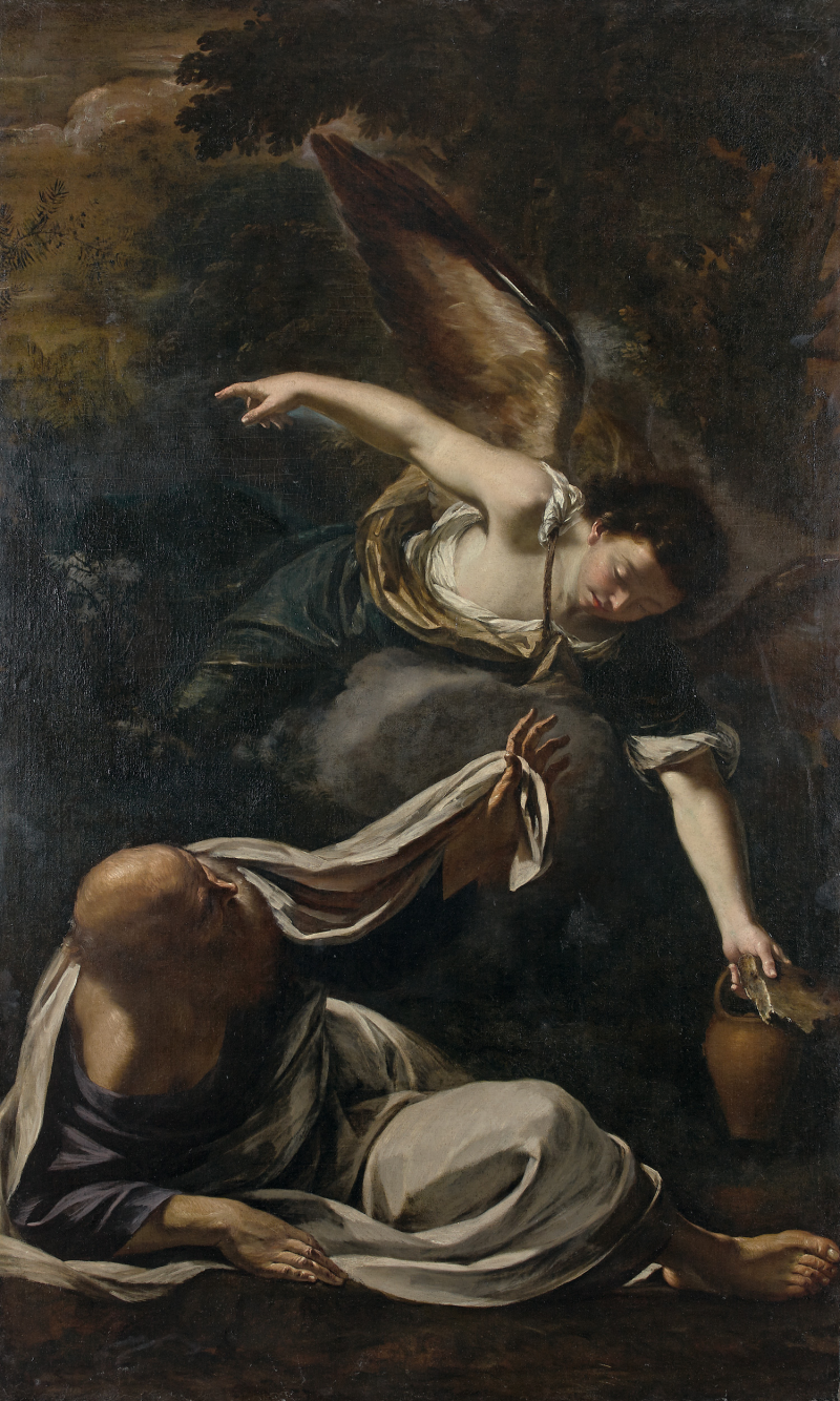 Elegant And Rare 17th Italian Baroque Painting For Sale In Paris UPDATED
