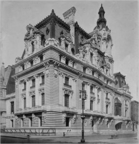 The 121-room mansion her father built on Fifth Avenue.