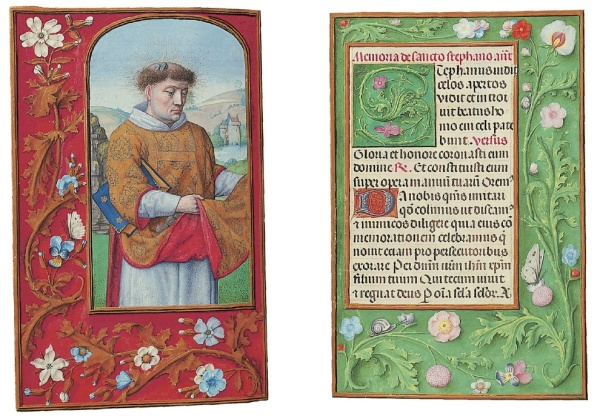 Lot 157. THE ROTHSCHILD PRAYERBOOK, A BOOK OF HOURS, USE OF ROME, IN LATIN, ILLUMINATED MANUSCRIPT ON VELLUM [Ghent or Bruges, c.1505-1510] 228 x 160mm. 252 leaves. Estimate $12-18 million.