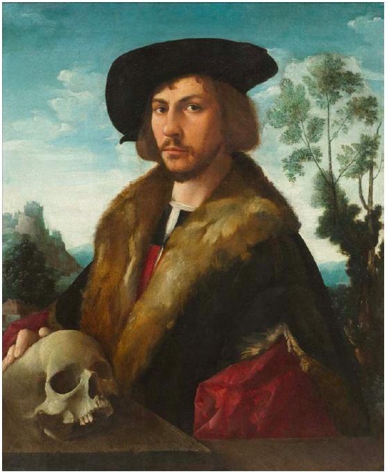 Lot 3022. DIRCK JACOBSZ. (1496 wohl Amsterdam 1567) Bildnis eines Mannes. Öl auf Leinwand. 80,5 x 66 cm. Estimate: CHF 150,000-200,000 (€125,000-166,670)