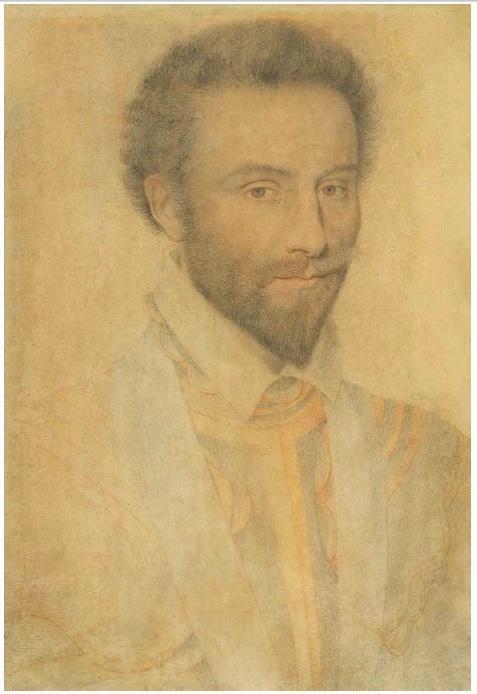 Lot 3026. PIERRE DUMONSTIER (um 1543 Paris 1601) Bildnis des Bernard de Nogaret, Seigneur de La Valette. Um 1584-1585. Kohlestift und Rötel auf Papier. 34 x 24 cm. Estimate: CHF 75,000-90,000 (€62,500-75,000)