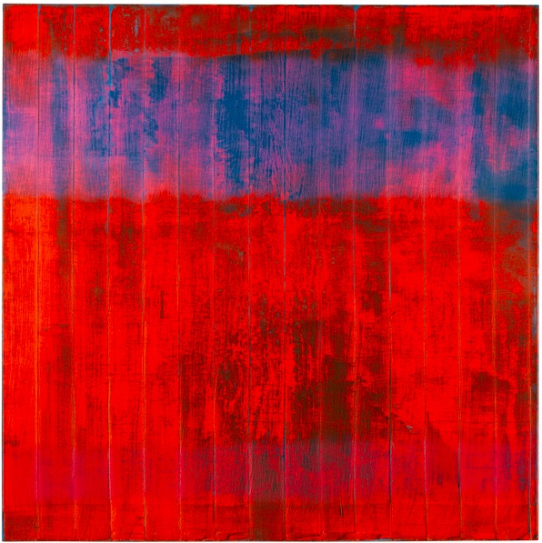Lot 12. GERHARD RICHTER B.1932 WAND (WALL) signed, numbered 806 and dated 1994 on the reverse oil on canvas 240 by 240cm.; 94 1/2 by 94 1/2 in. Estimate Upon Request
