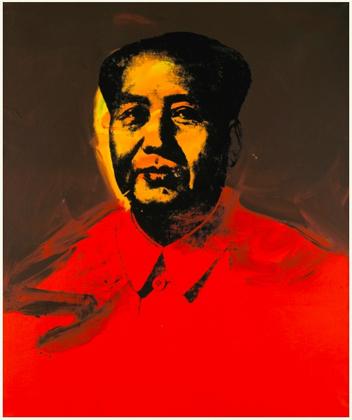 Lot 26. ANDY WARHOL 1928 - 1987 MAO signed on the reverse oil on canvas 127 by 106.6cm.; 50 by 42in. Executed in 1973. Estimate: £5.5-7.5 million ($9,020,550 — 12,300,750).