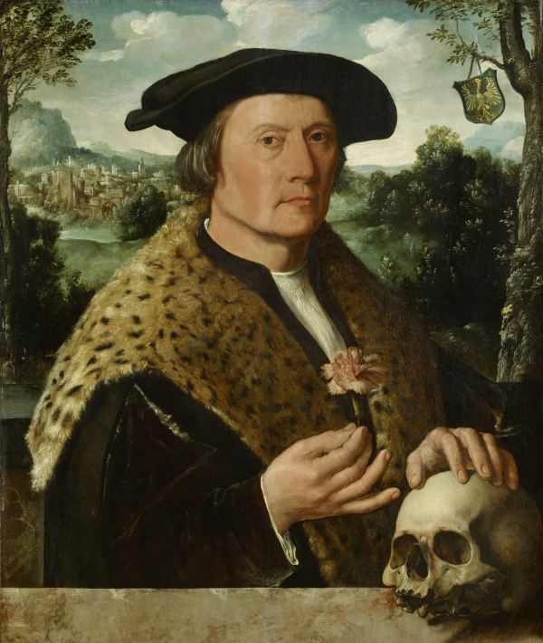 Pompeius Occo, Dirck Jacobsz., c. 1531 Oil on panel: h 66.5cm × w 55.1cm.