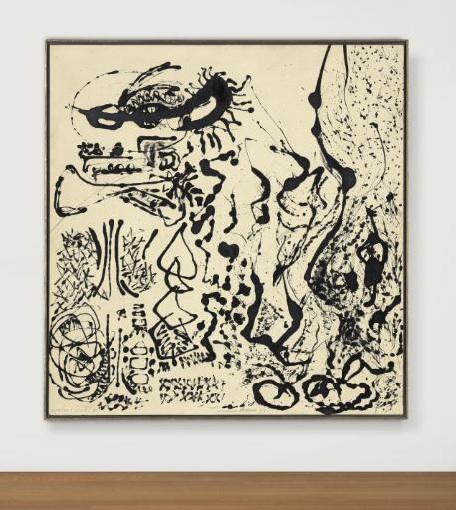 Jackson Pollock (1912-1956) Number 5 (Elegant Lady), 1951 Estimate: US$ 15-20 Million. © 2014 Pollock-Krasner Foundation / Artists Rights Society (ARS), New York