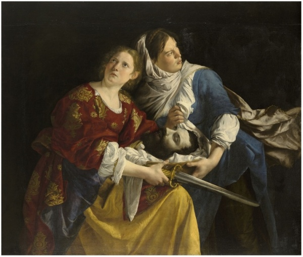 Orazio Gentileschi, Judith and Her Maidservant with the Head of Holofernes, 1621-24, oil on canvas, 53 3/4 x 62 5/8 in., The Ella Gallup Sumner and Mary Catlin Sumner Collection Fund, 1949.52