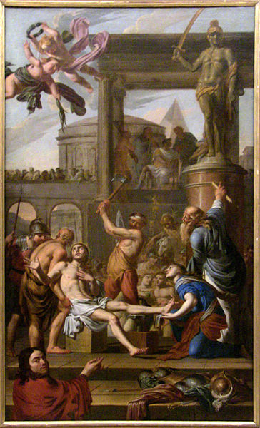 Martyrdom of St. Adrien.