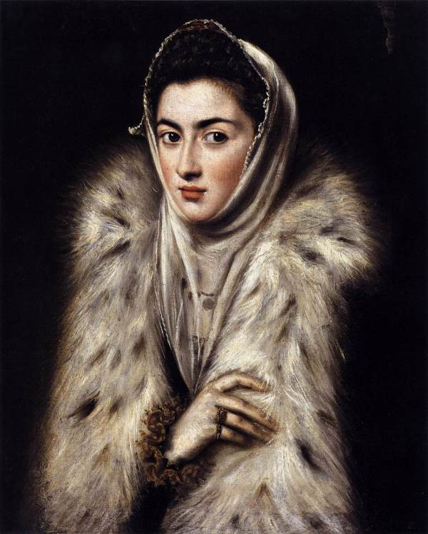 ART expert Antonio Garcia has produced a 60-page report which states the 16th century painting Lady in a Fur Wrap (above), which is on display in Glasgow's Pollok House, was not created by the artist El Greco.