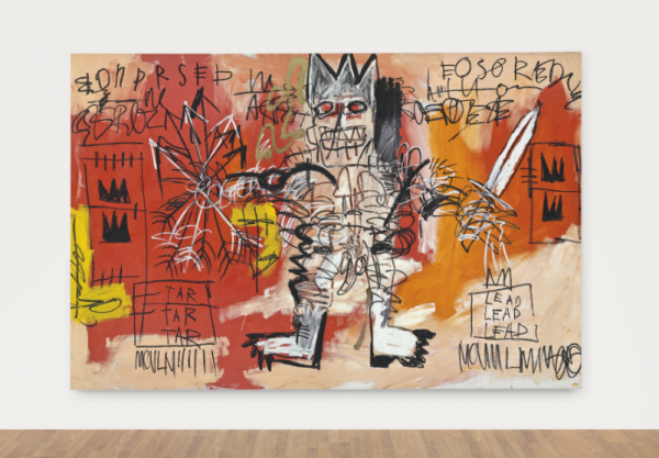 Jean-Michel Basquiat (1960-1988) Untitled acrylic and oil stick on canvas 68 x 103 in. (172.7 x 261.6 cm.) Executed in 1981 Estimate: $20,000,000 – 30,000,000
