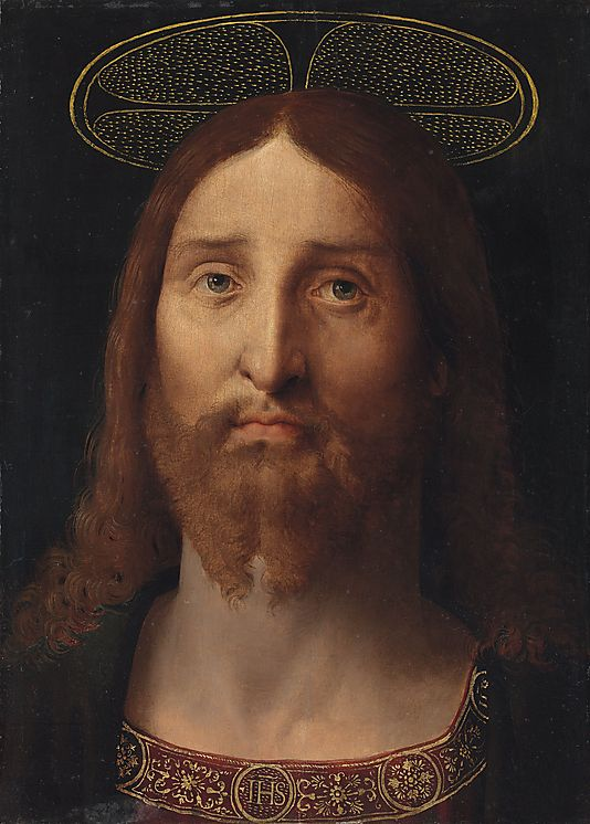 Head of Christ Fernando Yáñez de la Almedina (Spanish, Almedina, ca. 1475?–1536 Valencia) ca. 1505 Oil on wood: 16 1/2 × 12 in. (41.9 × 30.5 cm) Purchase, Bequest of George D. Pratt and Gift of Mr. and Mrs. Joshua Logan, by exchange, 2014