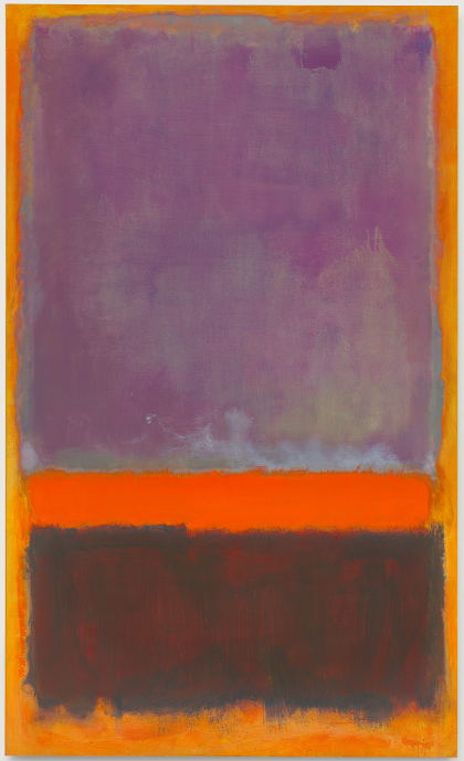 Lot 31. Mark Rothko (1903-1970)  Untitled  signed and dated 'MARK ROTHKO 1952' (on the reverse)  oil on canvas  103 x 62½ in. (261.6 x 158.7 cm.)  Painted in 1952. Estimate on Reserve.