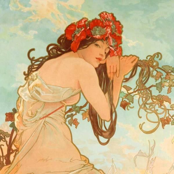 Alfons Mucha - Summer