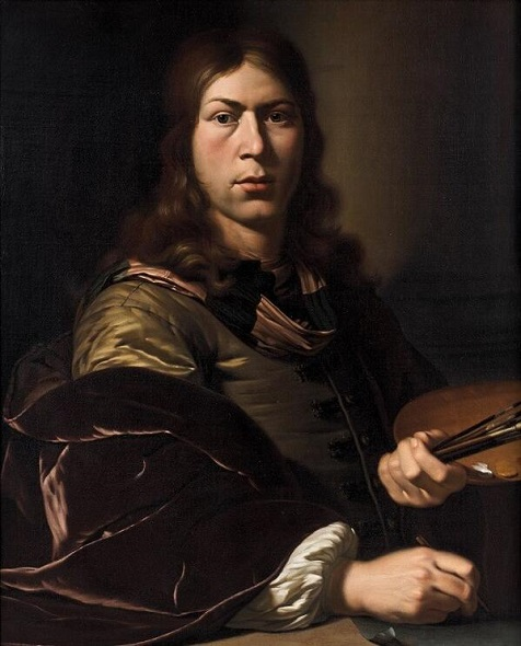 Jan Van Mieris Autoportrait, vers 1685 Oil on canvas: 80,\.4 x 64,\.3 cm,  Leyde, Museum De Lakenhal. Photo : Bob Haboldt & Co