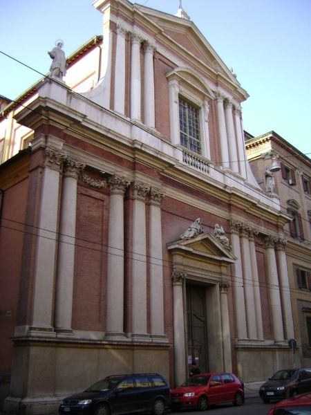 Church of San Vincenzo, Modena, Italy.