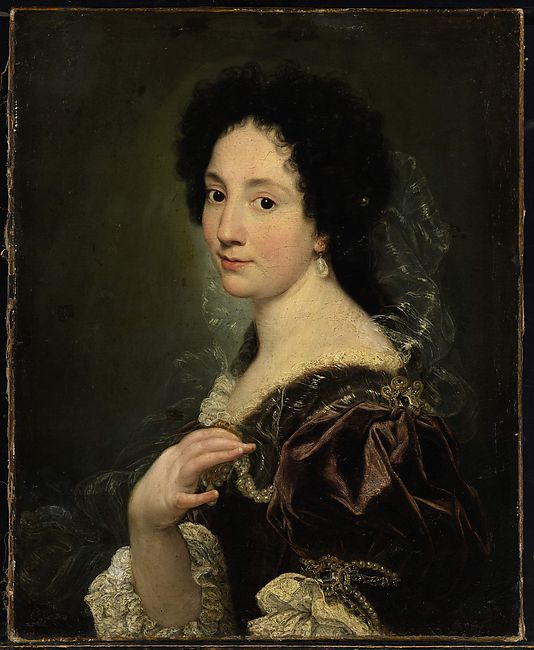 Portrait of a Woman Giovanni Battista Gaulli (Il Baciccio)  (Italian, Genoa 1639–1709 Rome) Date: ca. 1670s Medium: Oil on canvas Dimensions: 28 5/8 × 23 1/4 in. (72.7 × 59.1 cm) Classification: Paintings Credit Line: Gift of Álvaro Saieh Bendeck, Jean-Luc Baroni, and Fabrizio Moretti, in honor of Keith Christiansen, 2014 Accession Number: 2014.277