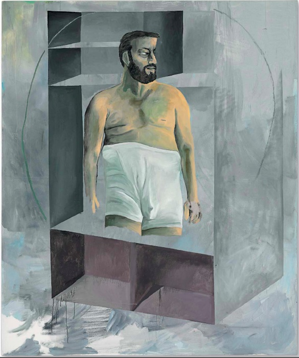Lot 40.Martin Kippenberger (1953-1997) Untitled oil on canvas 95 1/4 x 79 3/8 in. (241.9 x 201.6 cm.) Painted in 1988. Estimate: $15-20 million.