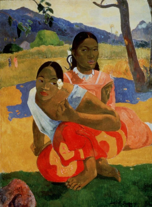 """Nafea Faa Ipoipo (When Will You Marry?)"" by Paul Gauguin. Credit Artothek/Associated Press. Click on image to enlarge."