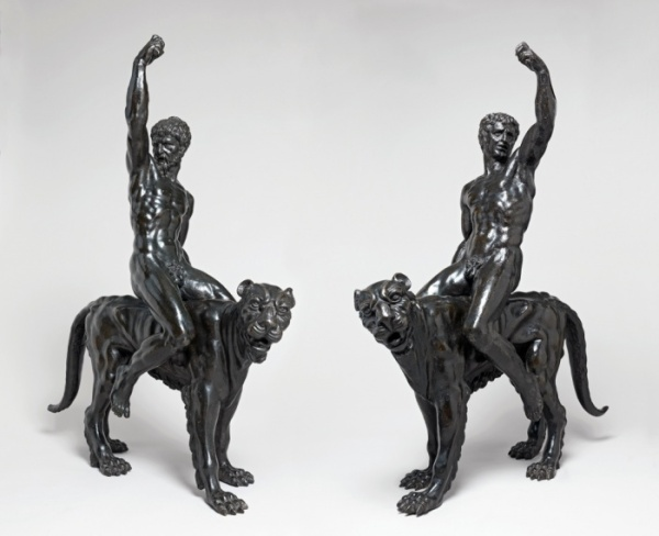 Nude bacchants riding panthers, c1506-08 Photograph: Michael Jones/The Fitzwilliam Museum.