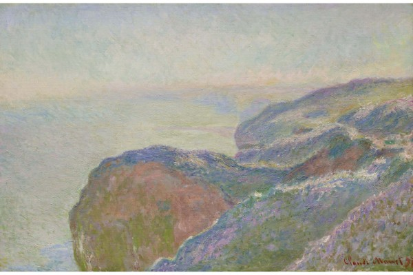 Lot 19. Claude Monet 1840 - 1926 AU VAL SAINT-NICOLAS PRÈS DIEPPE, MATIN Signed Claude Monet and dated 97 (lower right) Oil on canvas 25 7/8 by 39 1/2 in. 65.5 by 100.3 cm Painted in 1897. Estimate: $3-4 million. Click on image to enlarge.
