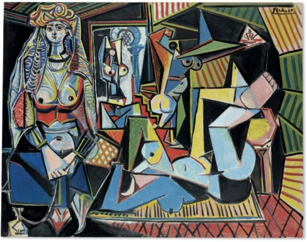 Lot 8a. Pablo Picasso (1881-1973) Les femmes d'Alger (Version 'O') signed 'Picasso' (upper right); dated '14.2.55.' (on the reverse) oil on canvas 44 7/8 x 57 5/8 in. (114 x 146.4 cm.) Painted on 14 February 1955. Estimate on Request (approximately $140 million).