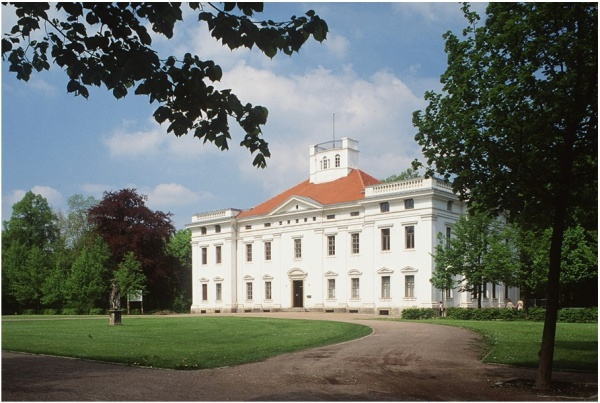 The palace in Dessau, Germany, that houses the Anhaltische Gemäldegalerie where the looted artworks will be received. Credit Ihlow/Ullstein Bild, via Getty Images. Click on image to enlarge.