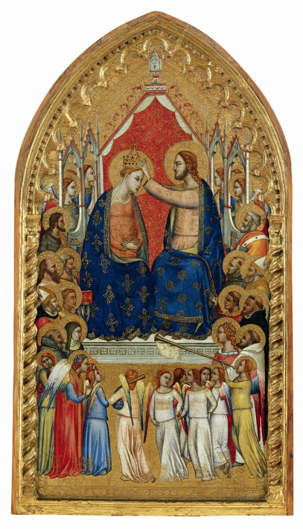 Puccio di Simone The Coronation of the Virgin with Angels and Saints, ca. 1340/45 Altenburg, Lindenau-Museum, Inv. 16