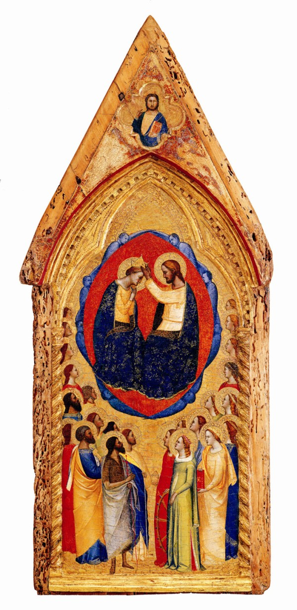 Meister von San Lucchese The Coronation of the Virgin with Angels and Saints, ca. 1365/70 Altenburg, Lindenau-Museum, Inv. 18