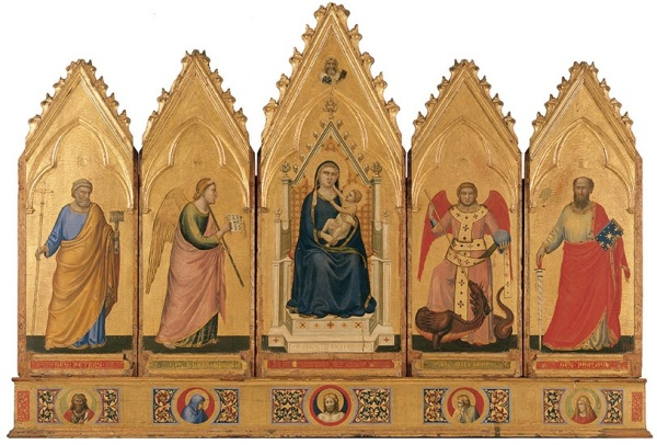 Polyptych 1330-35 Tempera on wood, 91 x 340 cm Pinacoteca Nazionale, Bologna