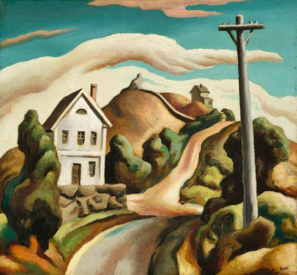 Thomas Hart Benton Martha's Vineyard, c. 1925 55.25 x 59.69 cm (21 3/4 x 23 1/2 in.) National Gallery of Art, Washington Corcoran Collection (Bequest of George Biddle)