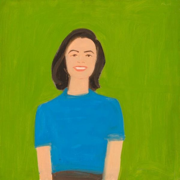 Alex Katz Portrait of Ada, 1959 oil on board 61 x 61 cm (24 x 24 in.) National Gallery of Art, Washington Avalon Fund