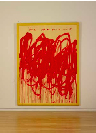 Twombly: Untitled (Bacchus 1st Version V).