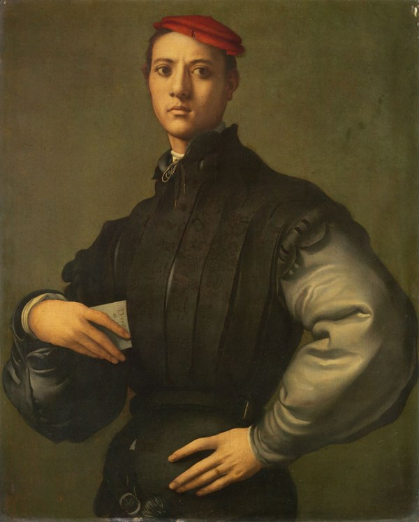 Pontormo Portrait of a Young Man in Red Cap (1530) Photo: UK Department for Culture, Media and Sport