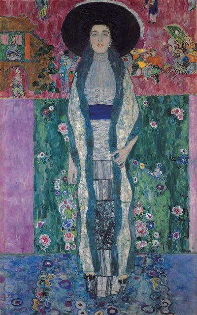 Gustav Klimt Portrait of Adele Bloch-Bauer II, 1912 Oil on canvas: 75 in. x 47 in.