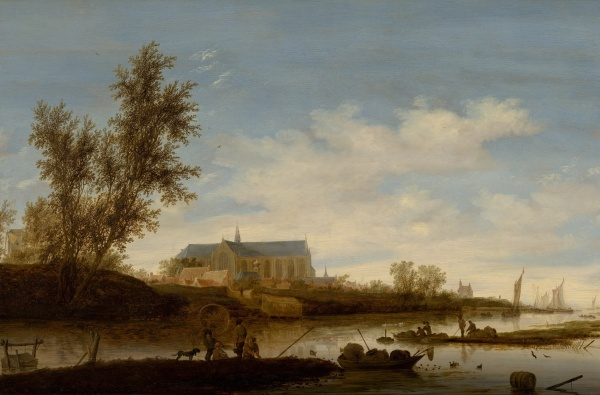 Ruysdael. Click on image to enlarge.